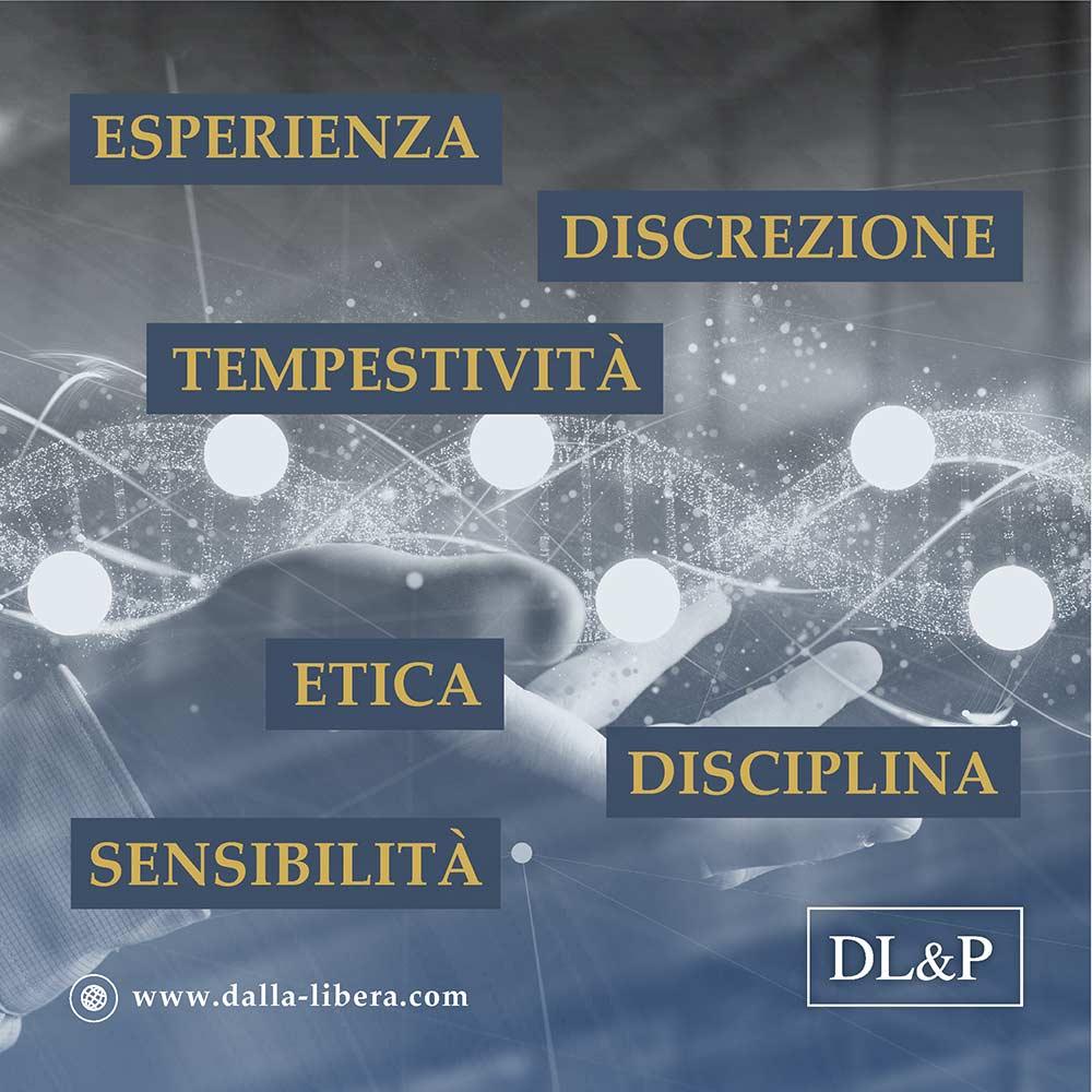 Dalla Libera & Partners: Esperienza - Discrezione - Tempestività - Etica - Disciplina - Sensibilità